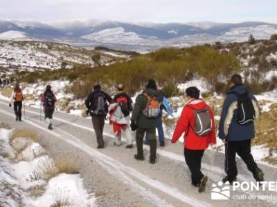 Valdemanco _ Buitrago del Lozoya - rutas senderismo sierra de madrid; excursiones de montaña